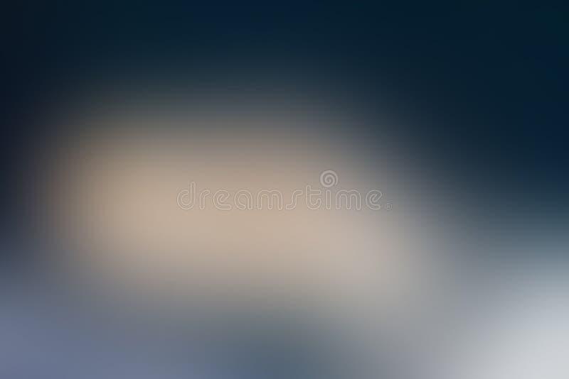 Gradiënt abstract staal als achtergrond, metaal, koude, hard, grijs, blauw, ruw met exemplaarruimte royalty-vrije illustratie
