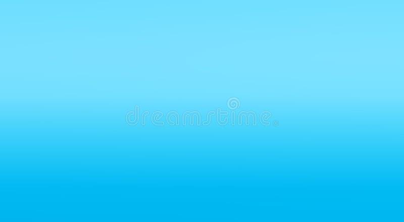Gradiënt blauw vlot malplaatje, banner, behangachtergrond royalty-vrije stock foto's