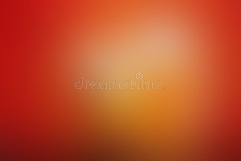 Gradiënt gloeit het abstracte rood als achtergrond, sinaasappel, brand, vlam, met exemplaarruimte stock fotografie