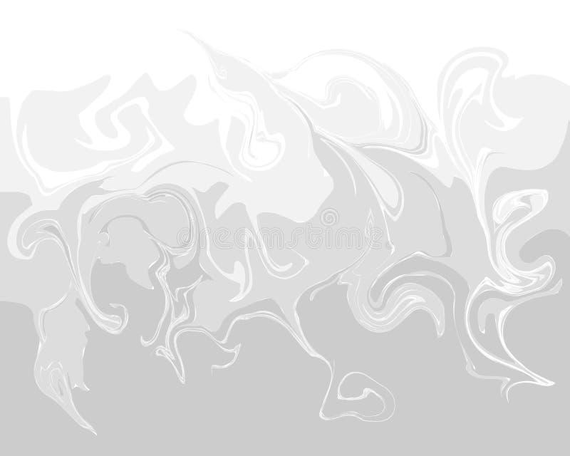 Gradiënt marmeren textuur Abstracte grijze achtergrond royalty-vrije illustratie