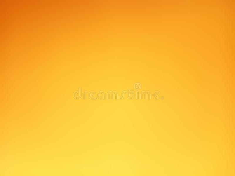 Gradiënt oranje en gele vage achtergrond royalty-vrije stock afbeelding