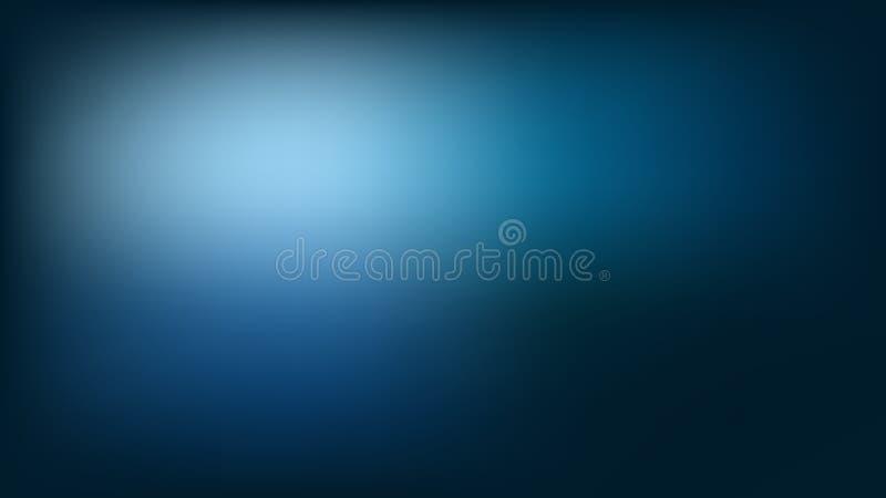 Gradient abstrait sur le fond bleu Gradient de couleur de vecteur illustration libre de droits