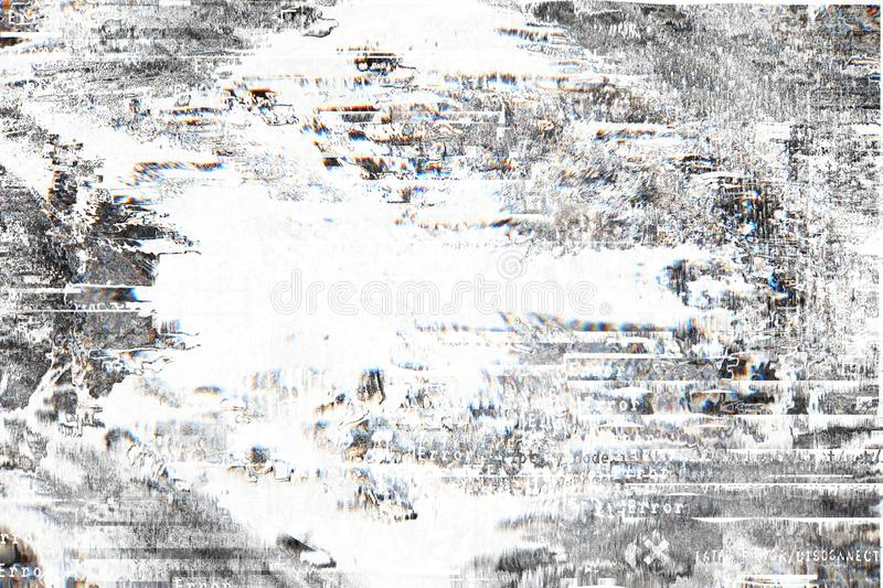 Gradient background with glitch effect, universal pattern stock photos