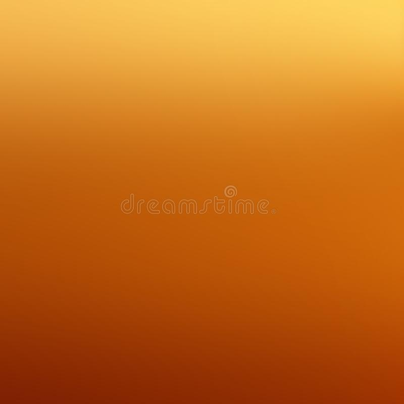 Gradient Background in Honey Tones. Abstract autumn backdrop wit stock image