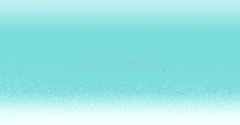 Gradient blanc de scintillement d'étincelle d'illustration de haute résolution sur l'abrégé sur de fête bonne année de Joyeux Noë illustration stock