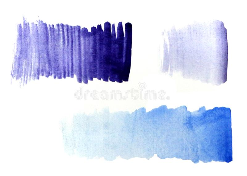 Gradient bleu de gradient pourpre illustration de vecteur