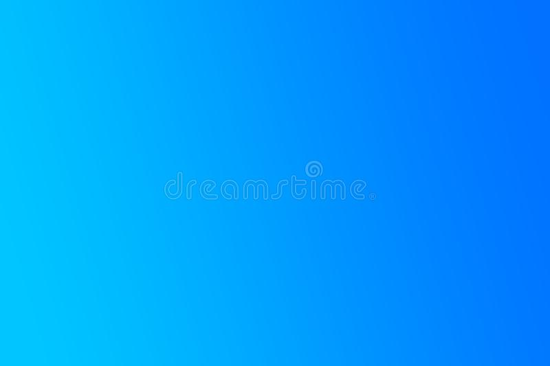 Gradient Blue abstract background stock image