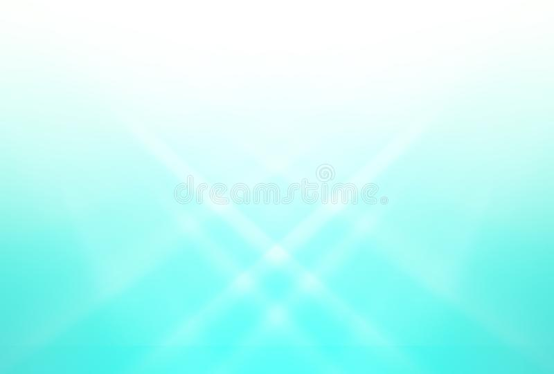 Gradient blue  and white abstract  background for design stock images