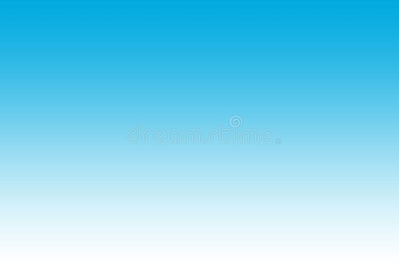 Gradient blue and white abstract background stock photography