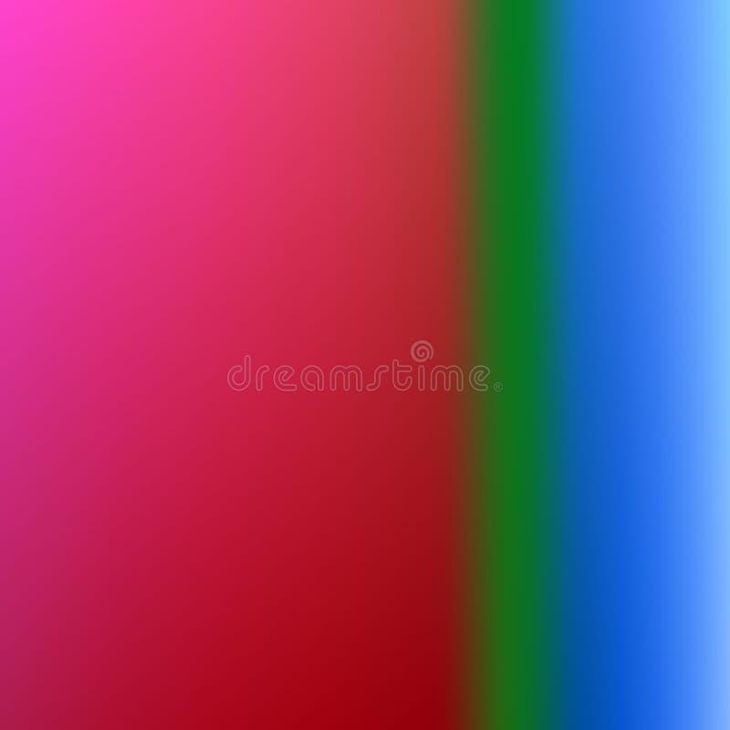Gradient brouillé par résumé coloré illustration libre de droits