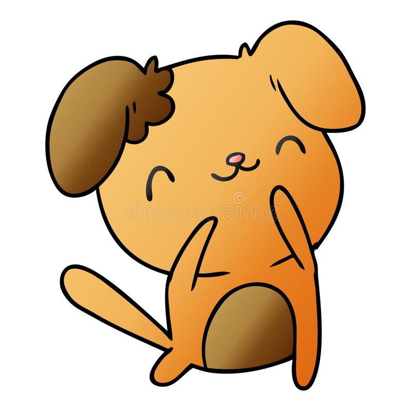 Gradient Cartoon Kawaii Cute Dog Pet Animal Furry Friend Puppy Art Illustration Drawing Doodle Quirky Freehand Drawn Free Hand Artwork Stock Illustrations 14 Gradient Cartoon Kawaii Cute Dog Pet Animal Furry