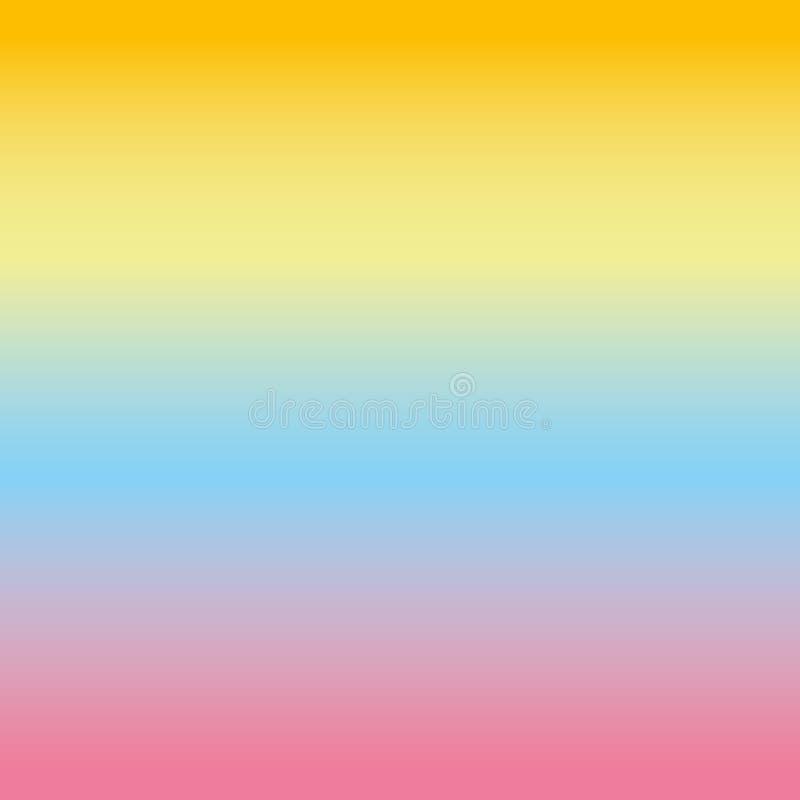 Gradient coloré, fond de couleur Wallpaper, dentelez, bleu, jaune, orange photographie stock libre de droits