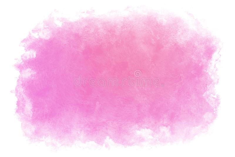 Gradient color spring purple water abstract or natural watercolor paint background vector illustration