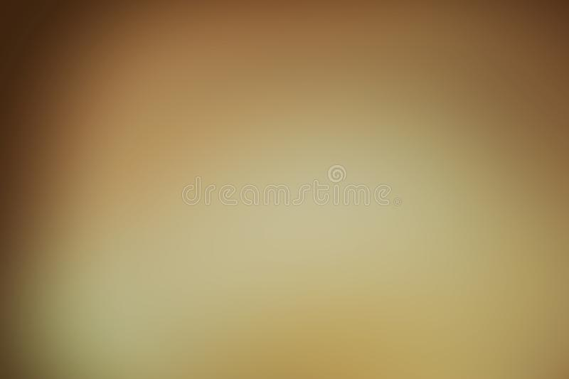 Gradient gold abstract. Background for use a design royalty free stock image
