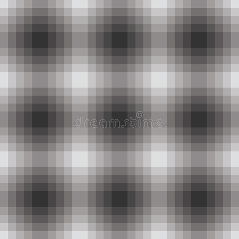 Gradient grayscale seamless pattern with optical illusion stock photo