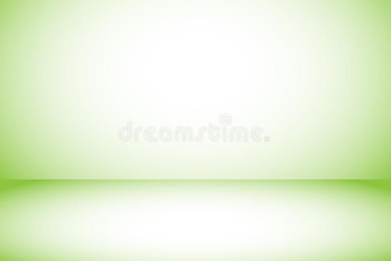 Download Gradient Green Background With Copy Space Using As Simple Clean Or Wallpaper Stock Vector