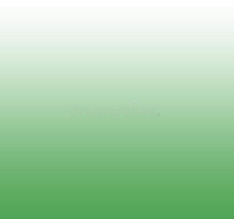 Gradient green color soft and smooth background vector illustration