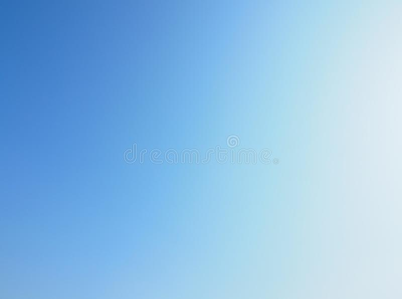 Gradient Light Blue Sky Wallpaper Background royalty free stock images