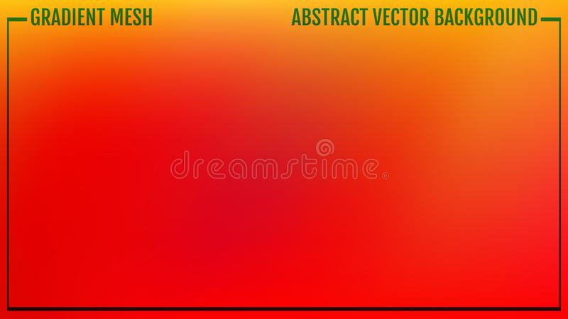 Gradient mesh abstract background. Modern screen vector design for mobile app or user interface. Business backdrop. Trendy concept stock illustration