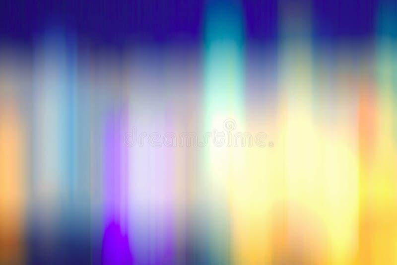 Gradient multicolore de fond de bokeh illustration libre de droits