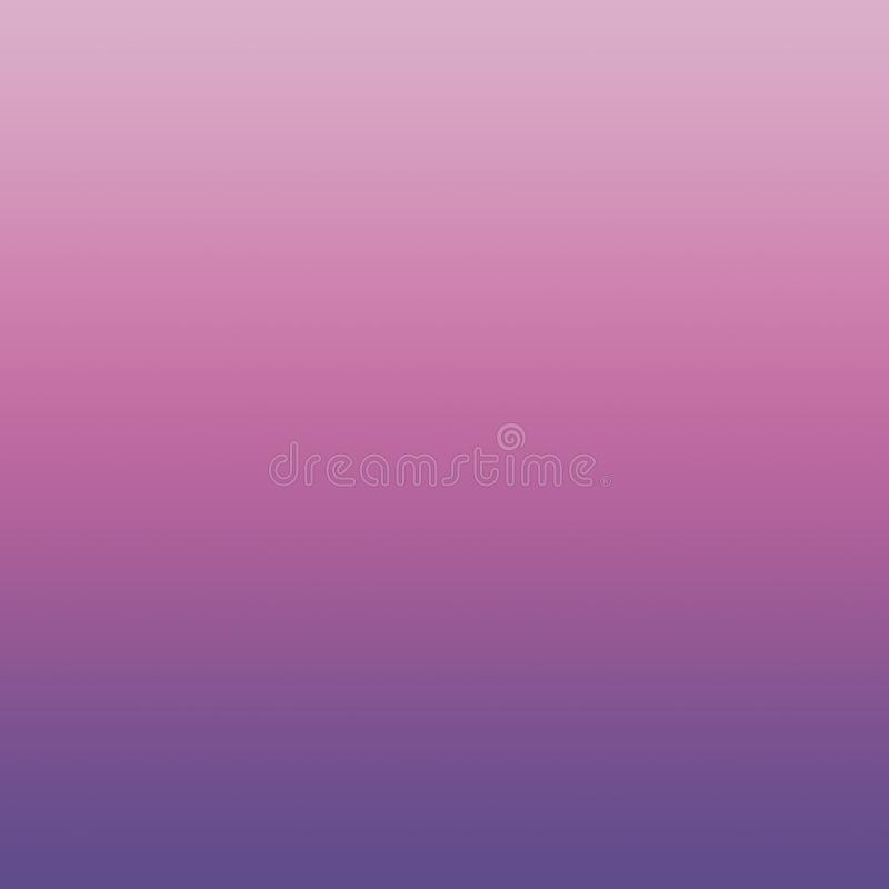 Gradient Ombre Ultra Violet Spring Crocus Pink Lavender Pastel Blurred Purple Minimal Background royalty free illustration