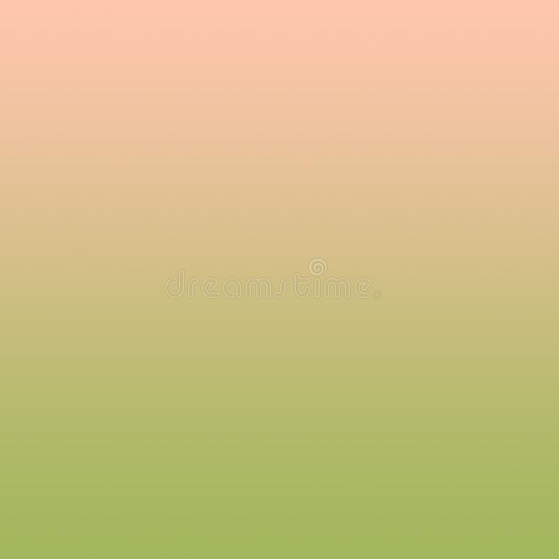 Gradient Pastel Millennial Pink Olive Green Background Abstract Spring Minimal Pattern. Template for graphic or web design, poster, banner, card Copy space royalty free illustration