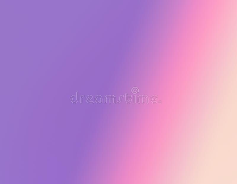 Gradient pink ,purple ,violet ,yellow pastel background royalty free stock image