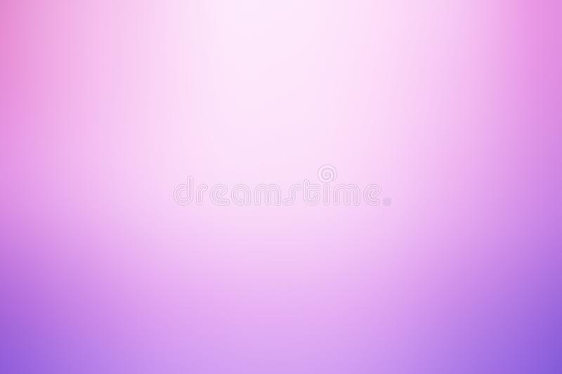 Gradient pink ,purple and white space background royalty free stock photography