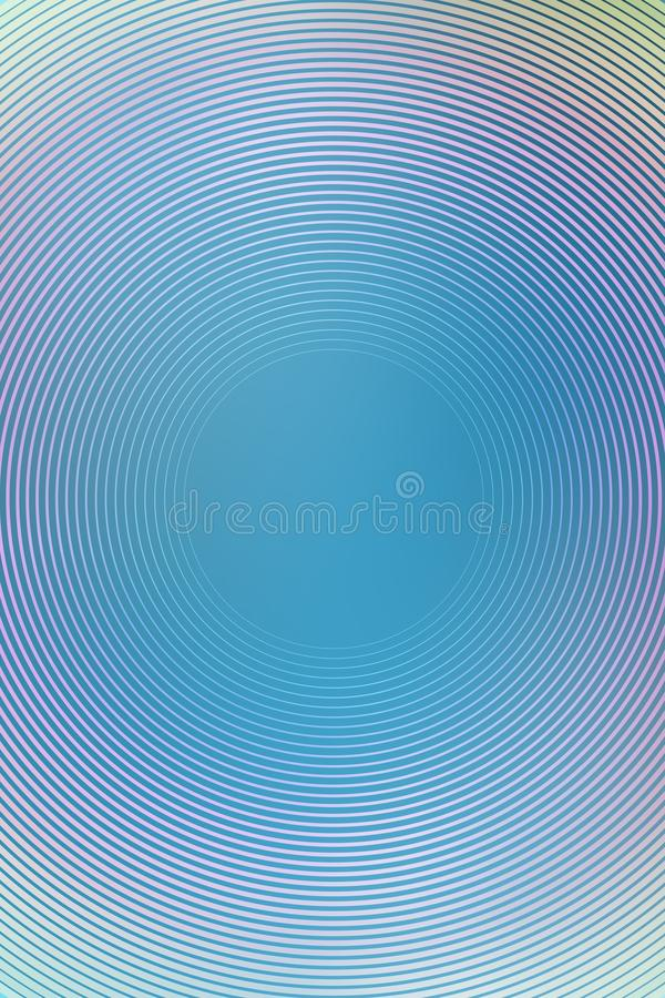 Gradient radial background, blue sky, blur smooth soft texture wallpaper abstract. Soft pastel stock photo