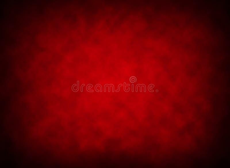 Gradient rouge et fumée illustration stock