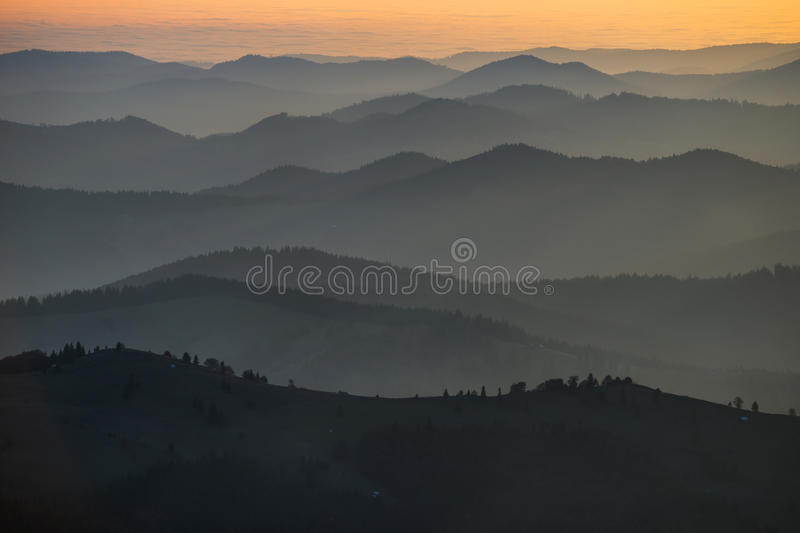 Gradient sky royalty free stock photography