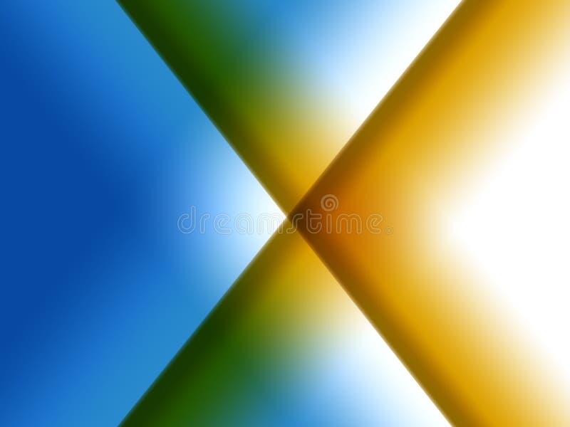 Gradient X illustration libre de droits
