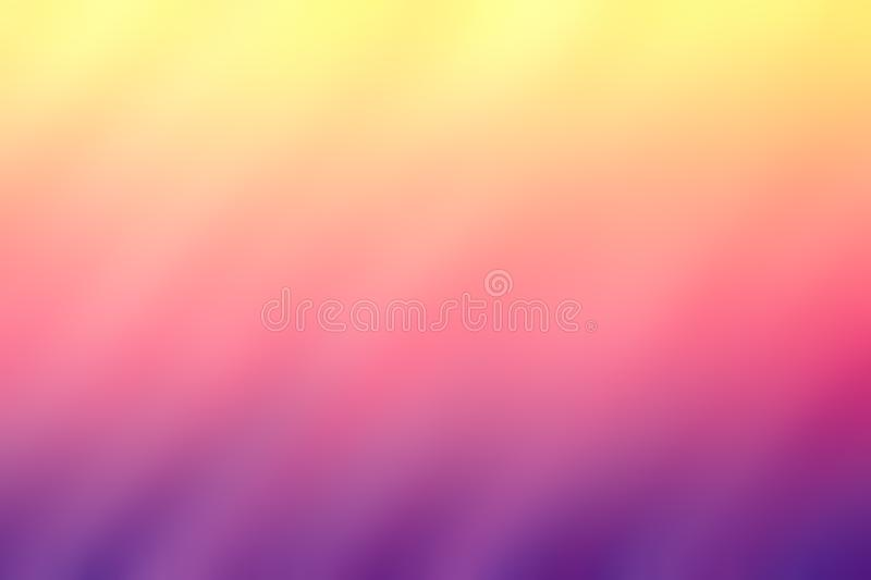 Gradient yellow ,pink,purple background royalty free stock images