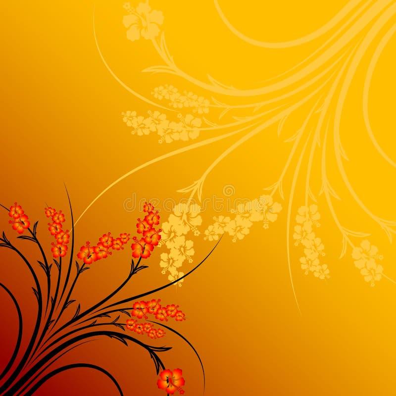 Gradiente astratto del fiore royalty illustrazione gratis