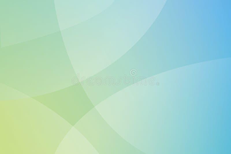 Gradiente circular del fondo ilustración del vector