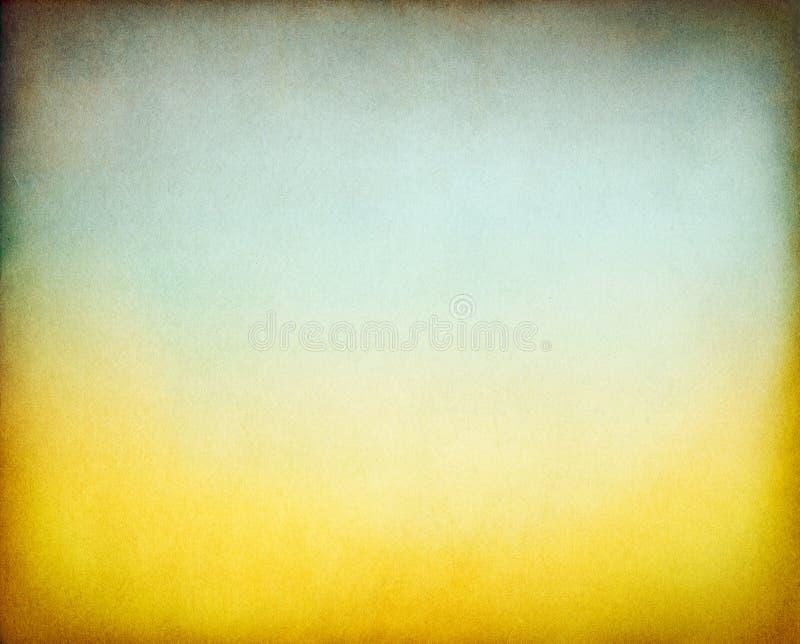 Gradiente giallo verde fotografia stock libera da diritti