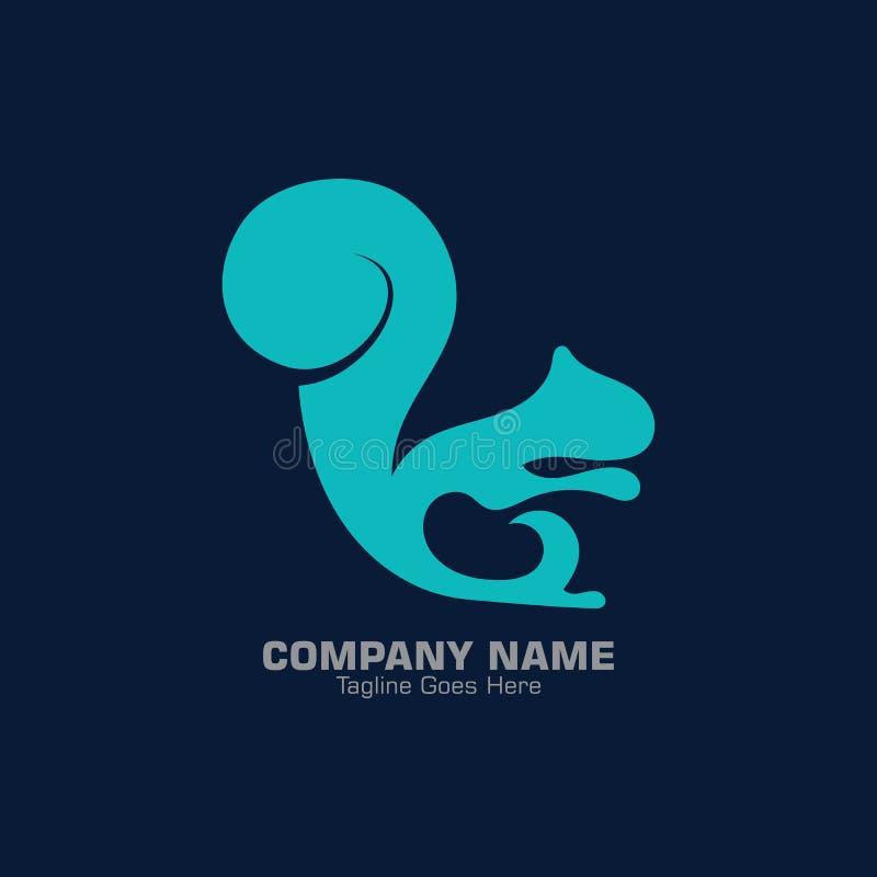 Gradiente moderno y diseño elegante y sencillo de la plantilla de logotipo stock de ilustración
