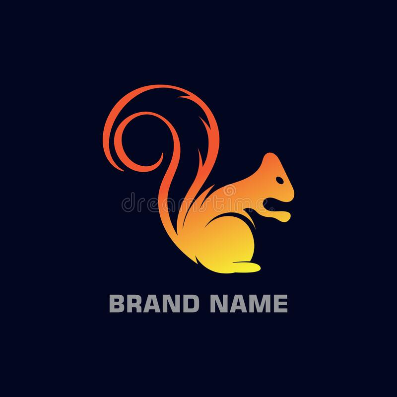 Gradiente moderno y diseño elegante y sencillo de la plantilla de logotipo libre illustration