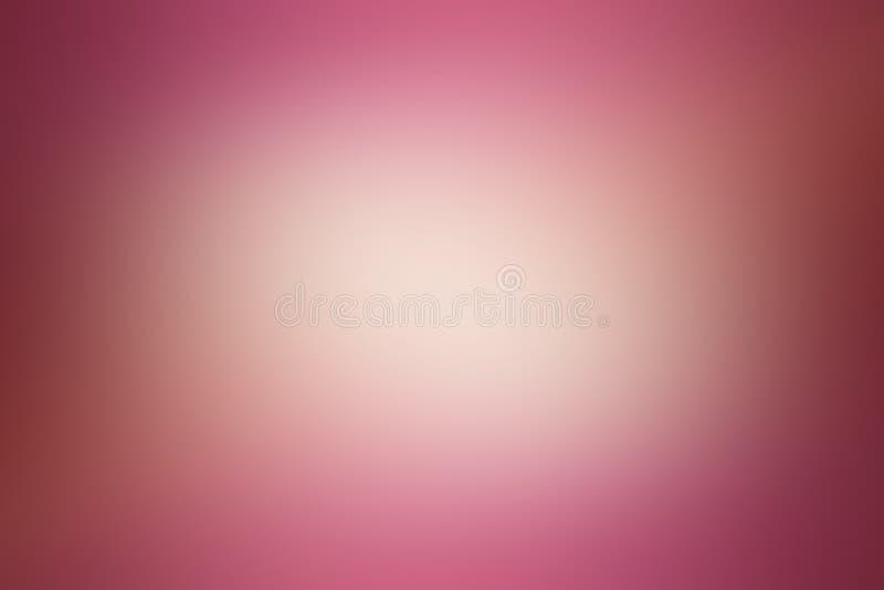 Gradientowego abstrakcjonistycznego korala różowy i złocisty tło obrazy stock