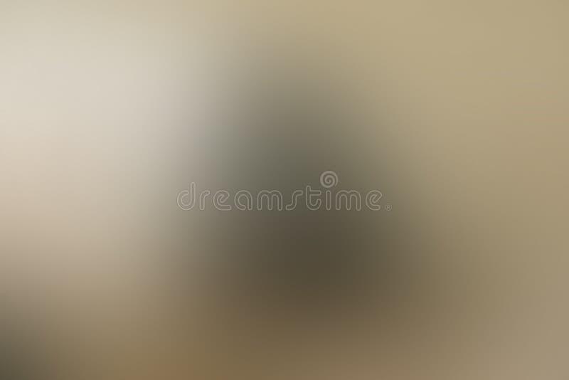 Gradientowy abstrakcjonistyczny brąz, brąz, mosiądz, szarość, groszak, tło z kopii przestrzenią ilustracja wektor