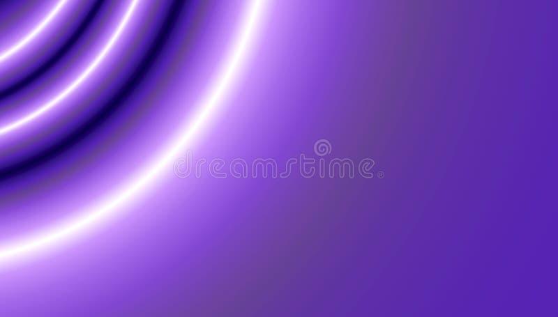Gradientowy fiołkowy tło dla cyfrowego tapetowego projekta Piękna Ultrafioletowa tekstura ilustracja wektor