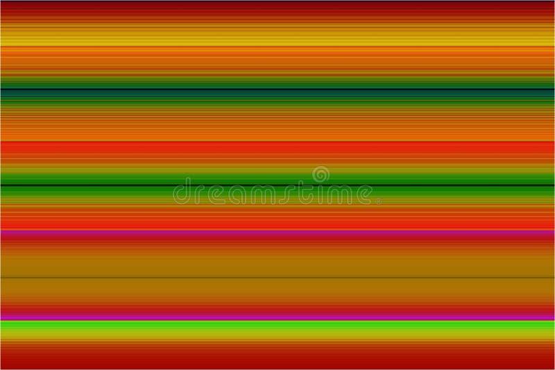 Gradientowy kolorowy opakunek wykłada horyzontalnego zdjęcie royalty free