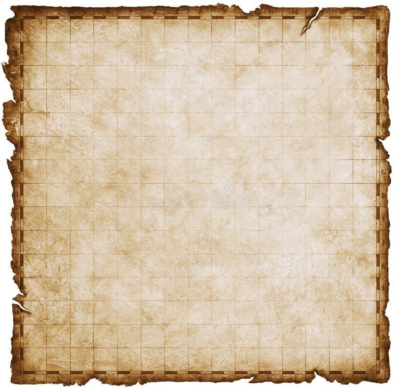 gradientowy mapa skarbu ilustracji