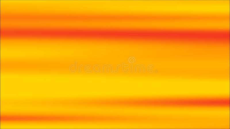 Gradientowy pomara?czowy t?o Pogodnego lata jaskrawy s?odki multicolor zamazany t?o ?wiadczenia 3 d ilustracja wektor