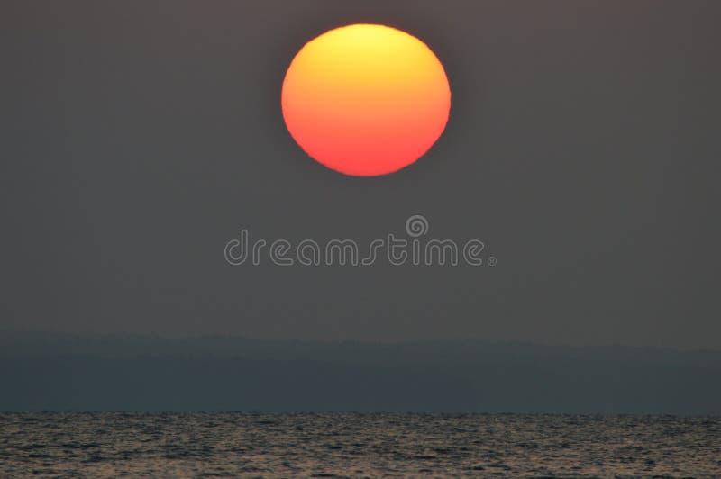 Gradientowy wschód słońca obraz stock