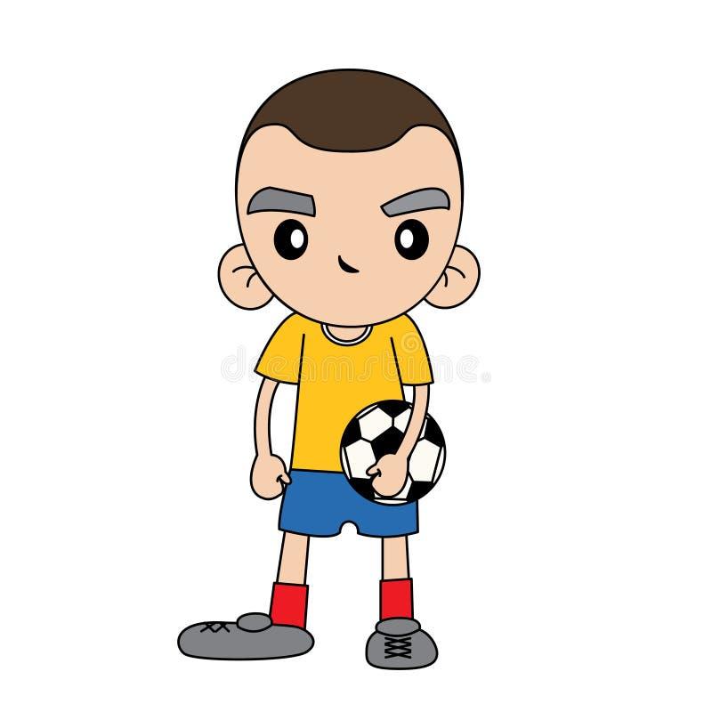Gradients simples de dossier du football boy photo libre de droits
