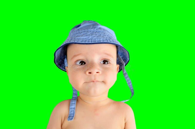 Gradisco il mio cappello immagine stock libera da diritti