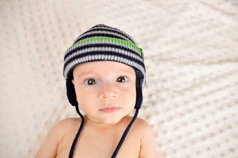 Gradisco il mio cappello immagine stock