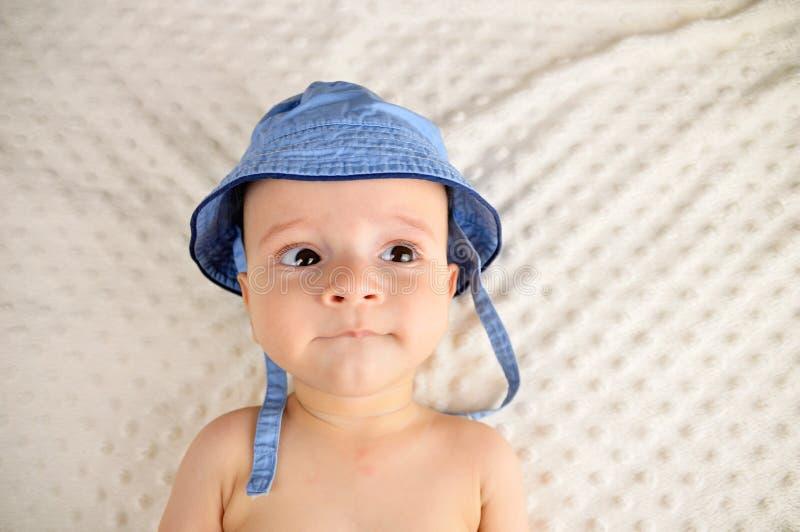 Gradisco il mio cappello immagini stock libere da diritti