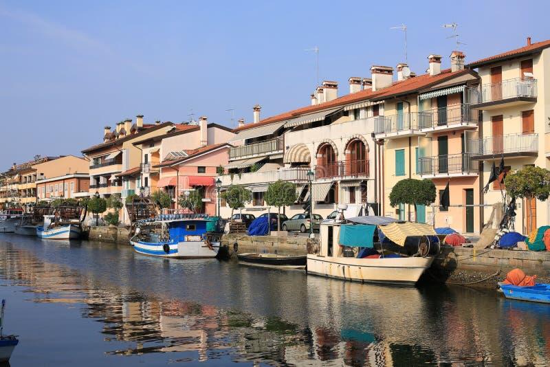 Grado in Italia fotografia stock libera da diritti